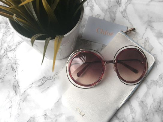 b4b86683d9 Holiday edit: Chloe Carlina Sunglasses and are dupes such a bad thing?
